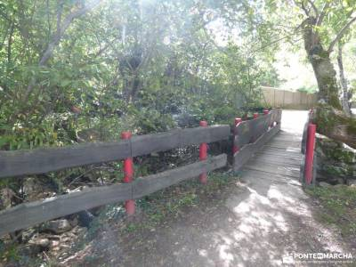 Vuelta al Senderismo-Valle Lozoya; rutas senderismo madrid con niños puente del 12 de octubre alpedr